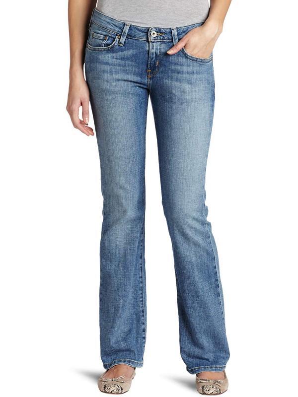 Женские джинсы Levis 545 Misses Low Rise Slim Fit Boot Cut Jean Sky, 155543467