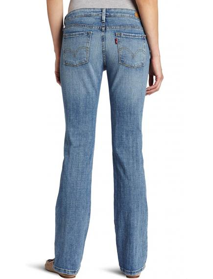 Женские джинсы Levis 545 Misses Low Rise Slim Fit Boot Cut Jean Sky, 155543467