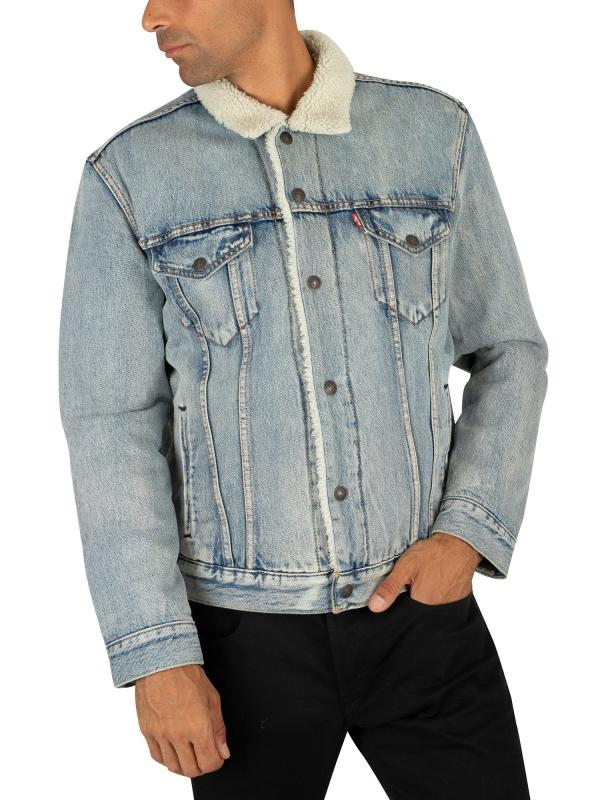 Куртка Levis THE SHERPA TRUCKER JACKET  STONEBRIDGE