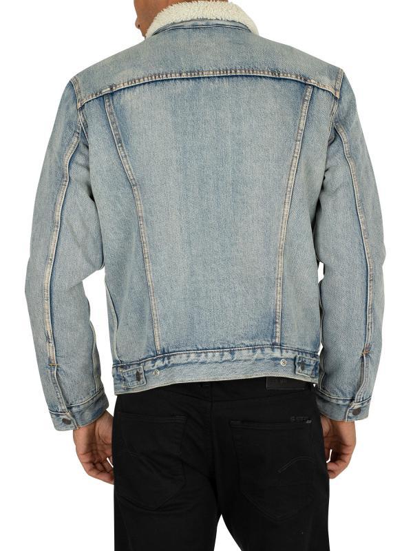 Куртка Levis THE SHERPA TRUCKER JACKET  STONEBRIDGE