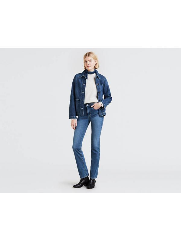 Женские джинсы Levis 724 High Rise Straight Jeans 188830014
