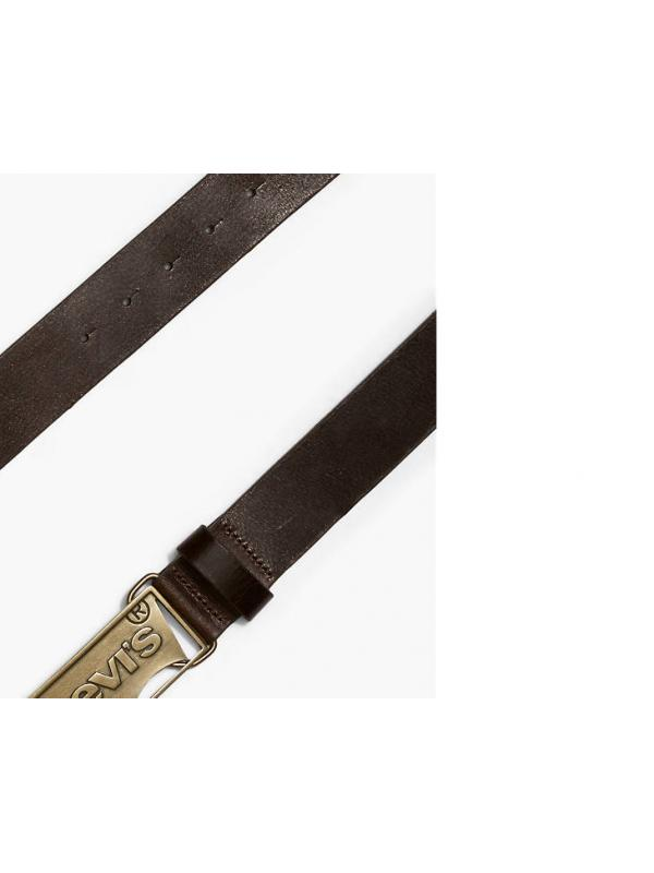 Ремень  Levis Logo Plaque Belt 380170029  Brown