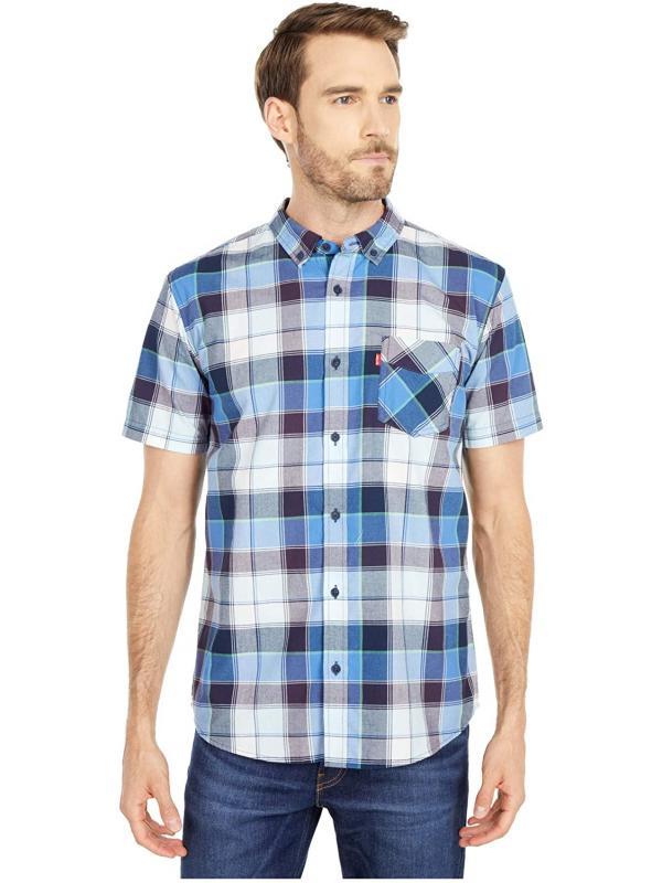Рубашка Levis Cameron Short Sleeve Woven Riverside