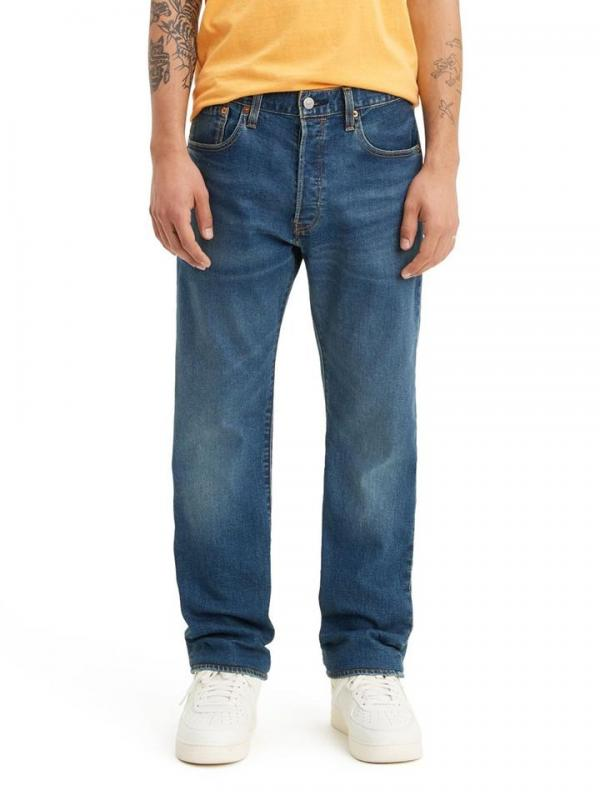Джинсы Levis 501 Original Fit Straight Jeans Largo Nightshine