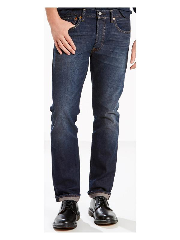 Джинсы Levis 501 Original Fit Straight Jeans Anchor