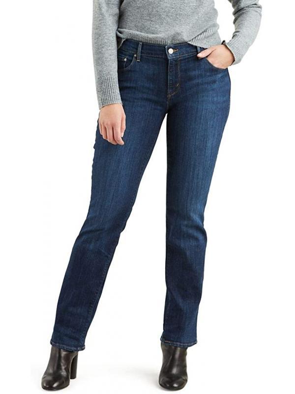 Женские джинсы Levis 505 ™ Straight Fit Jeans SLEEK BLUE new