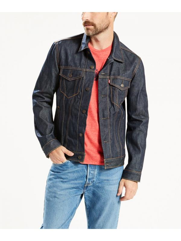 Куртка джинсовая LEVIS Denim Trucker Jacket rigid