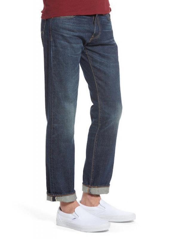 Джинсы мужские LEVIS 511 Slim Fit Selvedge Dark Wash
