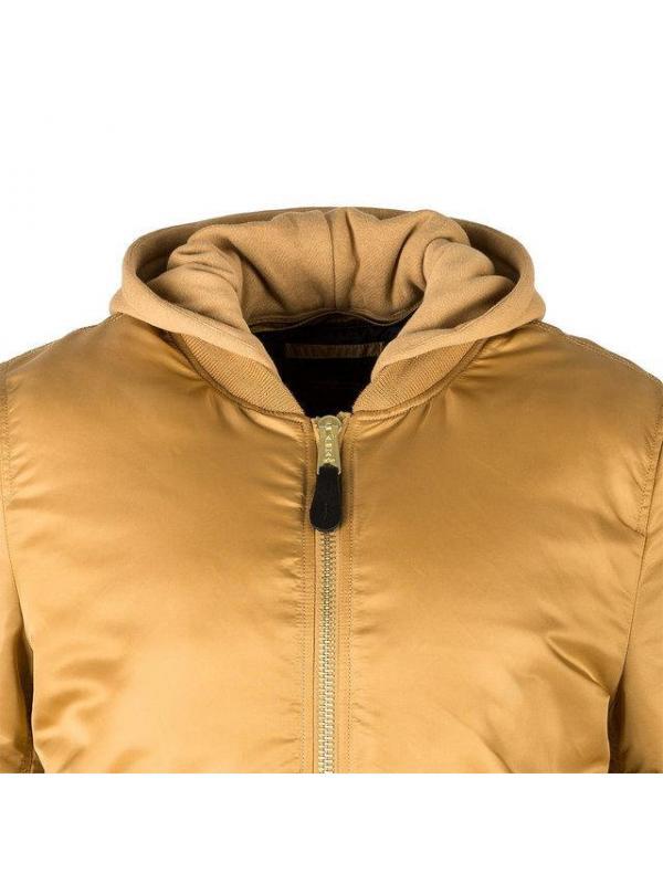 Мужская куртка Alpha Industries MA-1 Natus Camel/Blue