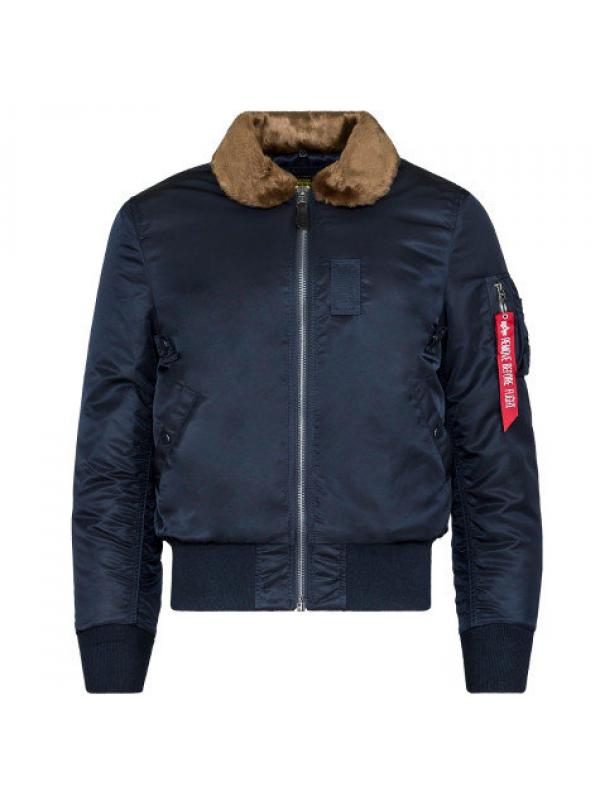 Куртка Alpha Industries B-15 Slim Fit Replica Blue