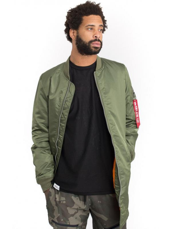 Мужская куртка Alpha Industries MA-1 Long Sage