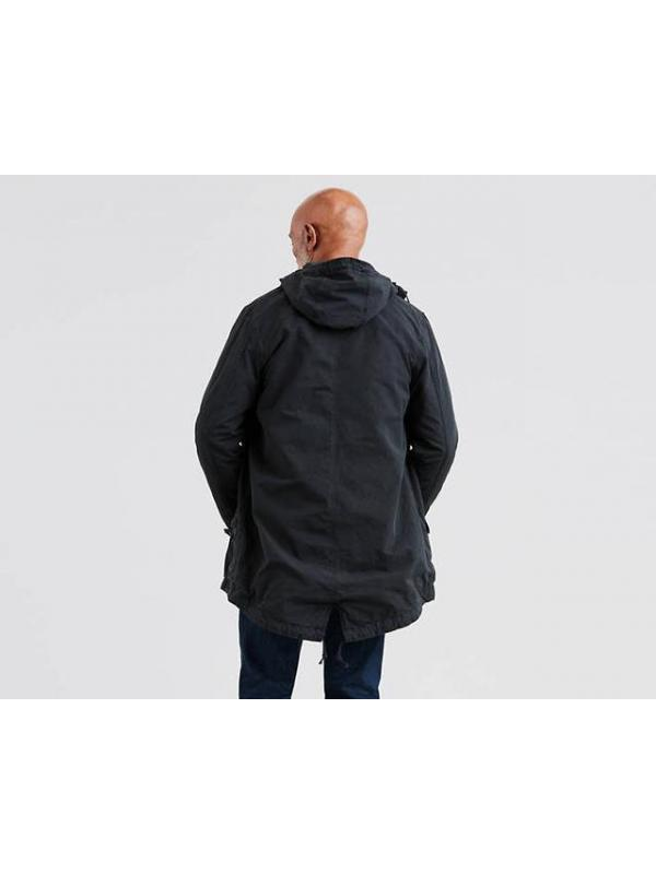 Куртка Levis Lined Fishtail Parka Jacket Black