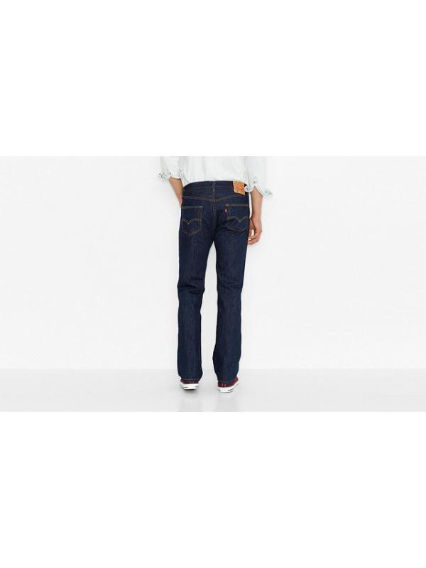 Мужские джинсы Levis Mens 501 Original Fit Jeans Rinse