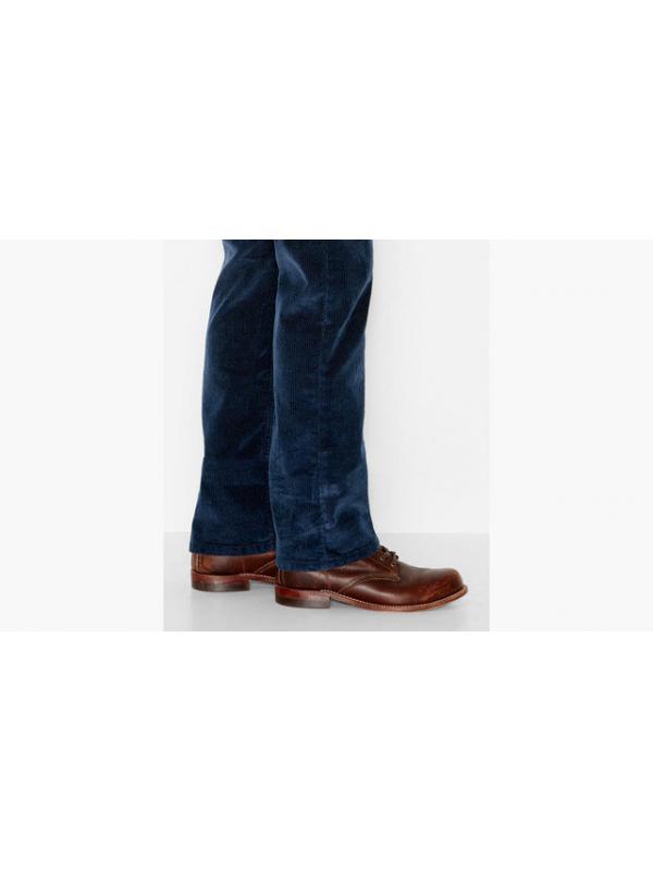 Вельветовые джинсы levis 514™ Slim Straight Corduroy DRESS BLUES new
