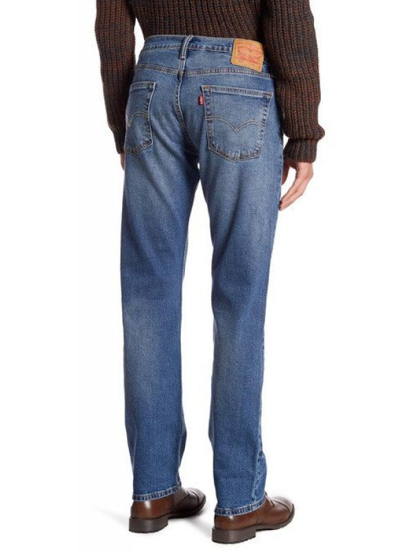 Джинсы Levis 513™ Slim Straight Jeans Brick Road