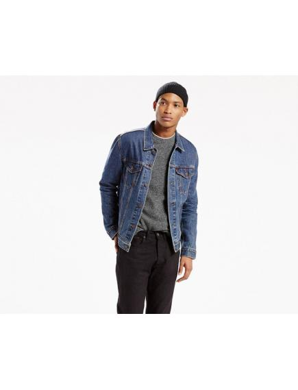 LEVIS The Trucker Jacket Dark Stonewash куртка