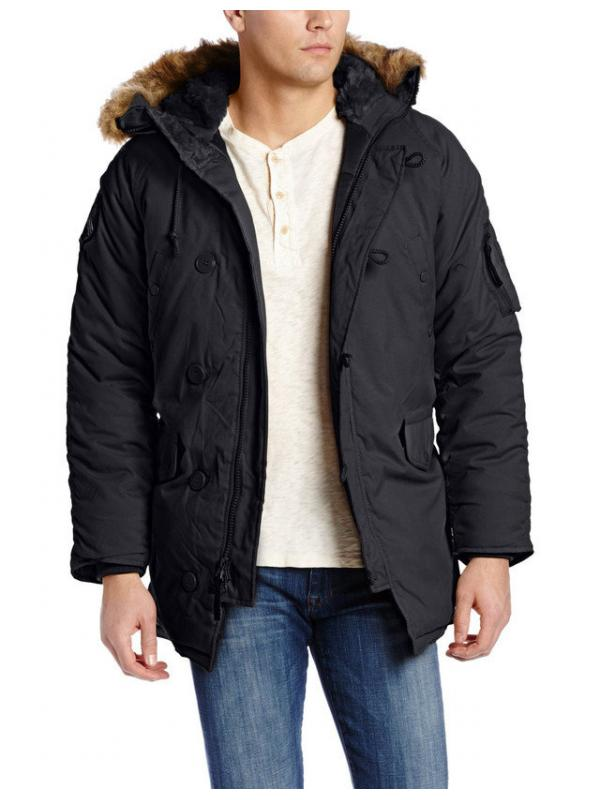 Куртка Alpha Altitude Parka Black