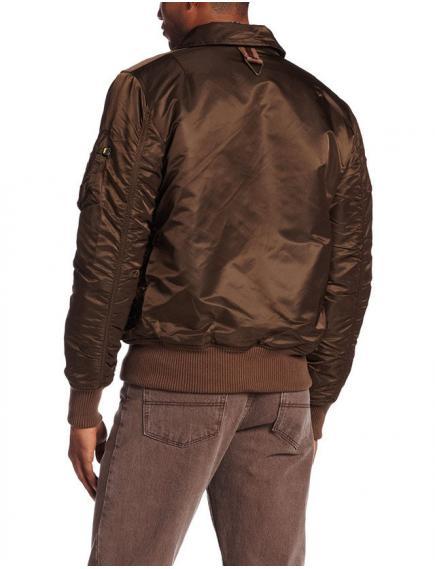 Куртка Alpha Injector Washed Brown