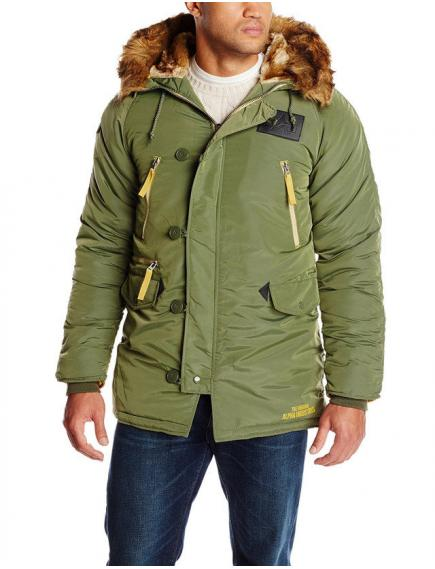 Куртка Alpha N3B Inclement Sage Green