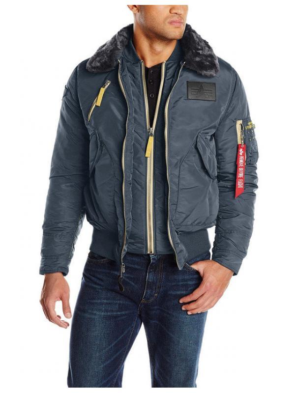 Куртка Alpha Industries B-15 Air Frame Steel Blue