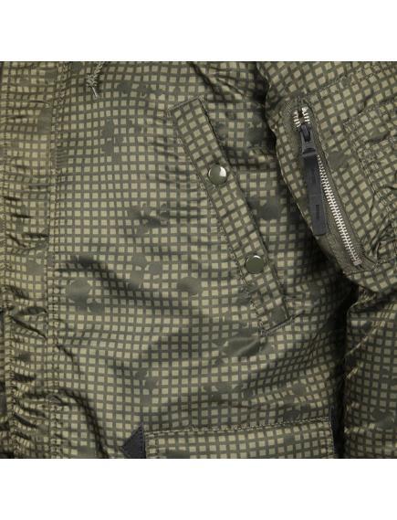 Куртка Alpha Slim Fit N-3B Parka Nightvision Camo/Orange